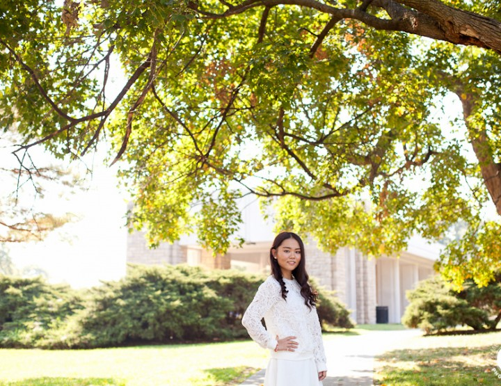 Kansas City High School Senior Photographer | SCA 2015 Senior Ziwei