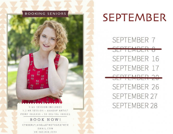 September Dates: Kansas City High School Senior Photographer