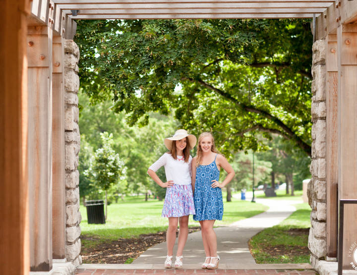 Kansas City Senior Photographer | BFF Shoot | Sneak Peek