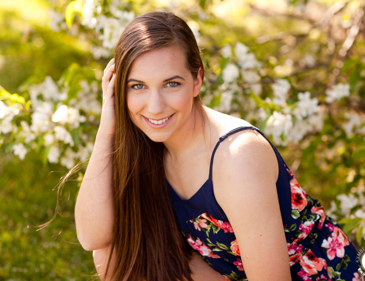 Shawnee Mission West High School Senior Photographer | Sneak Peek Isabel