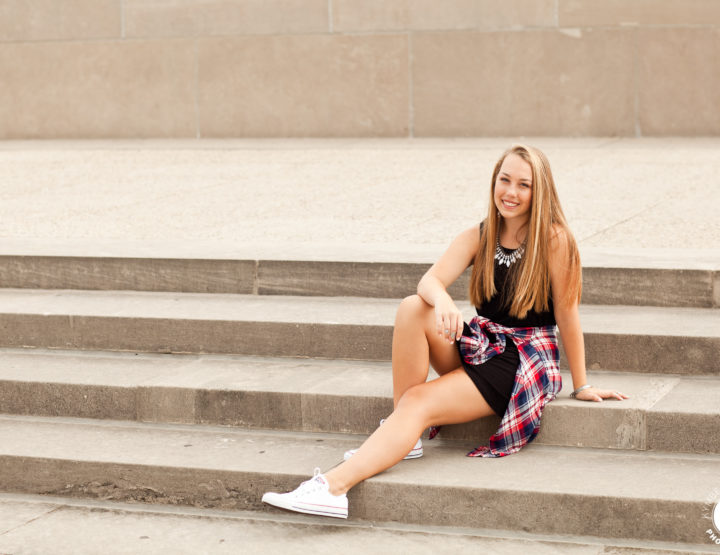 Kansas High School Senior Photographer | Sneak Peek: Breanna